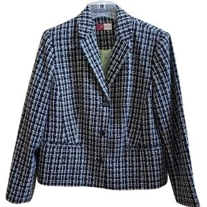 JM Collection Wool Blazer sz l